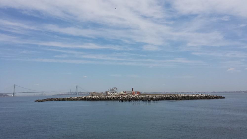 Swinburne Island in Lower New York Bay