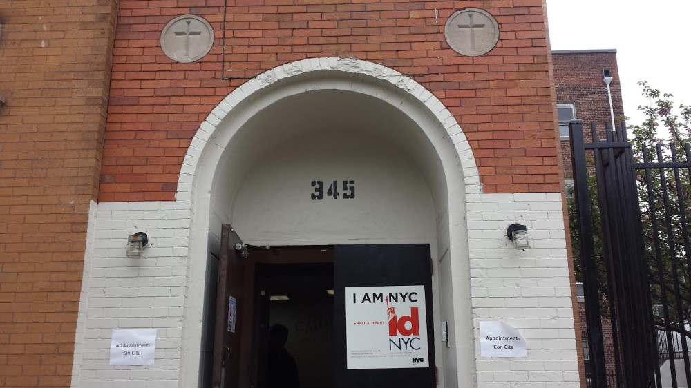 The IDNYC center in Sunset Park