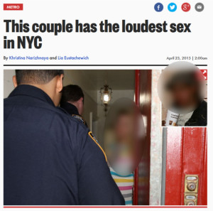 The blurring effect is ours, since that would require a basic level of decency not found at the NY Post.