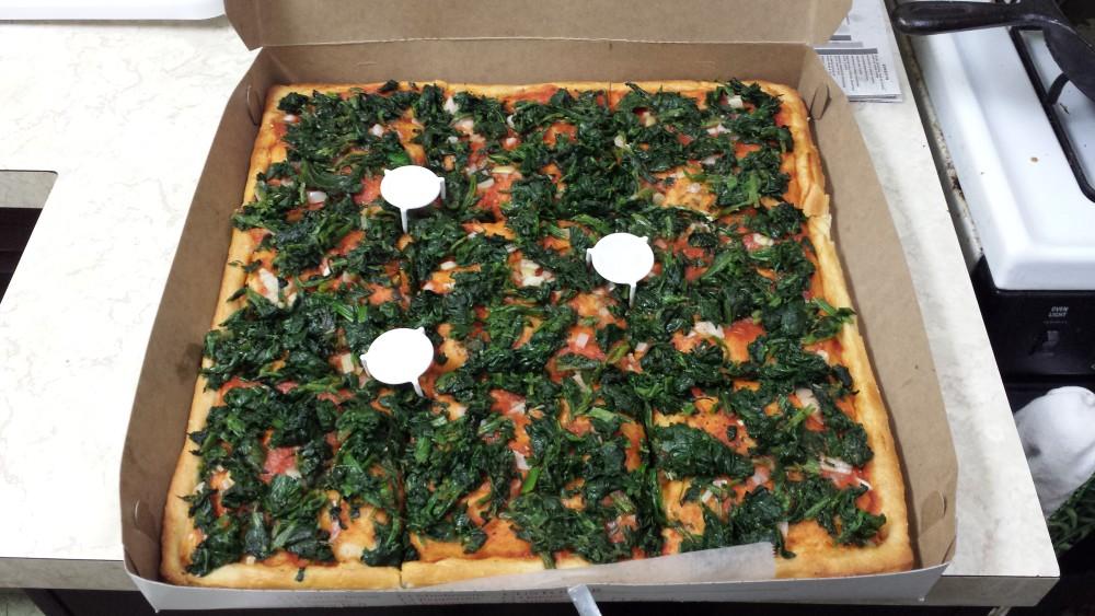 Del Corso pizza pie