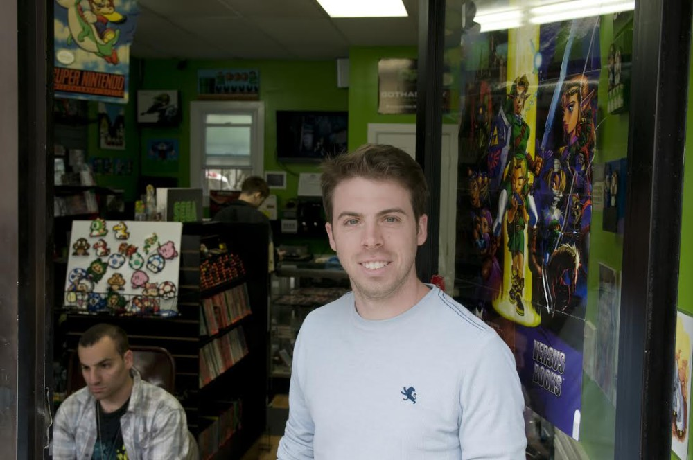 Ralph Puglisi, owner of Gotham City Games
