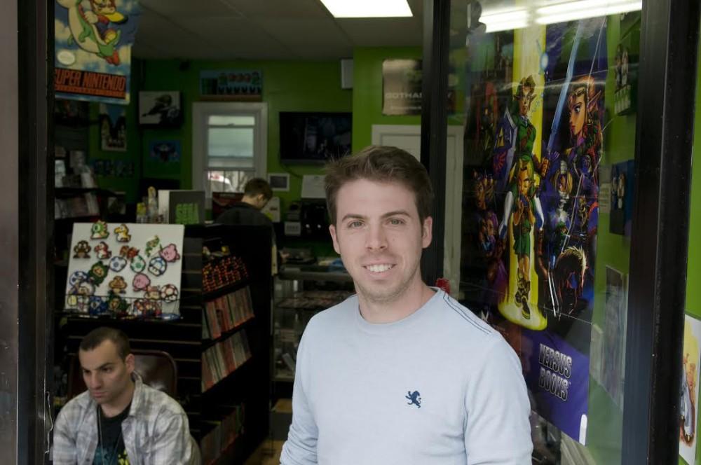 Ralph Puglisi, owner of Gotham City Games