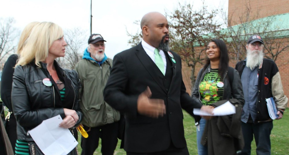 Green Party Candidate James Lane on Staten Island