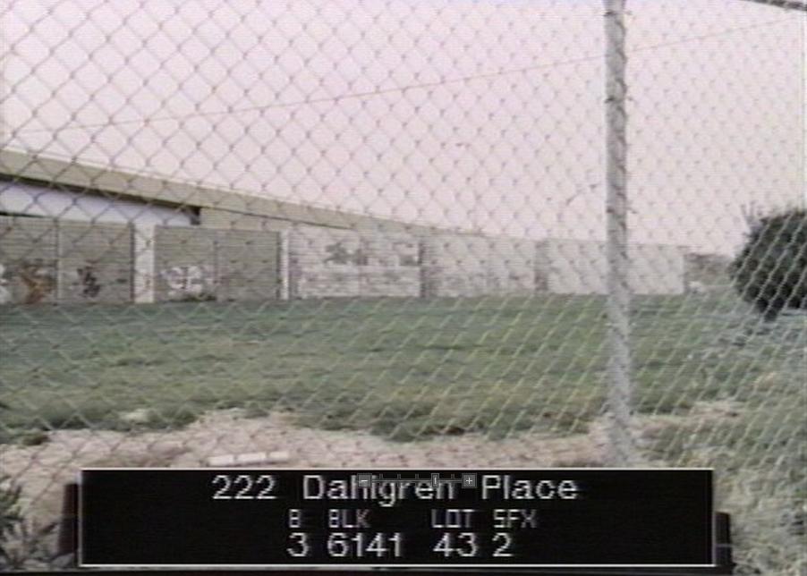 Dahlgren Place Park in the 1980s