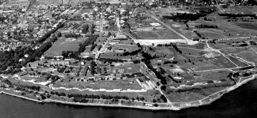 Fort Hamilton and Bay Ridge, 1924