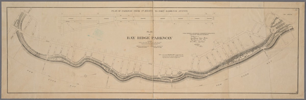 Bay Ridge Parkway map