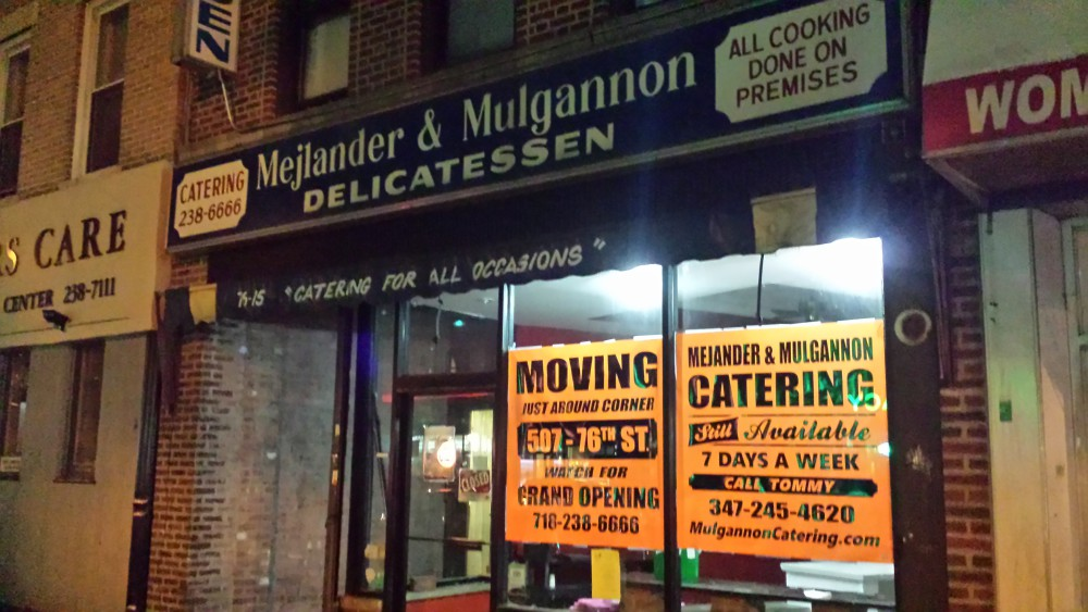 Mejlander and Mulgannon delicatessen