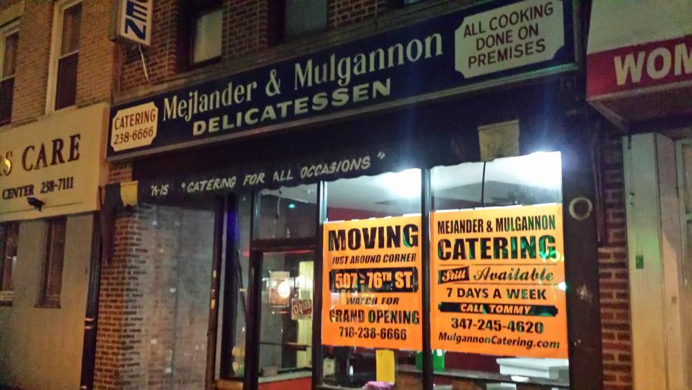 Mejlander and Mulgannon delicatessen