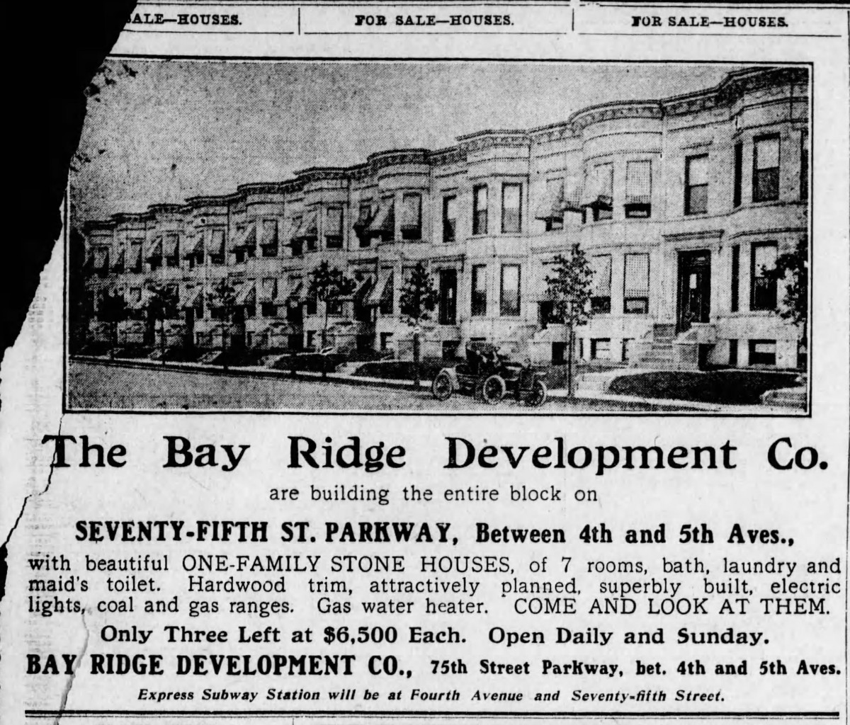 Bay Ridge Parkway homes