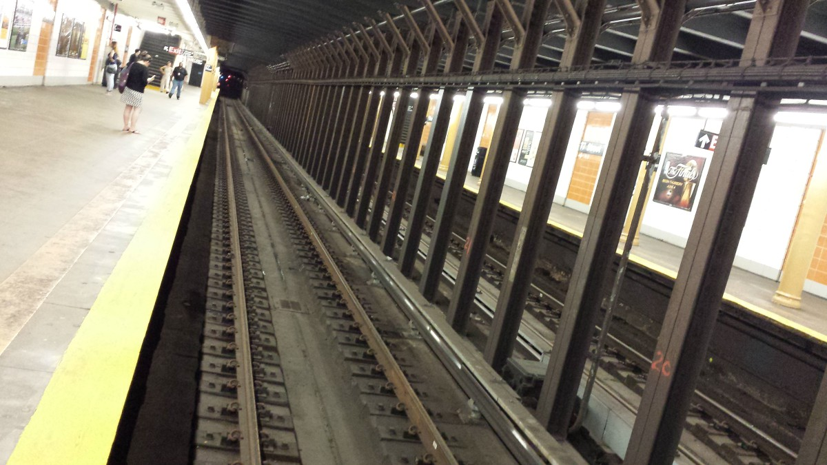 The 77th Street Station Tracks