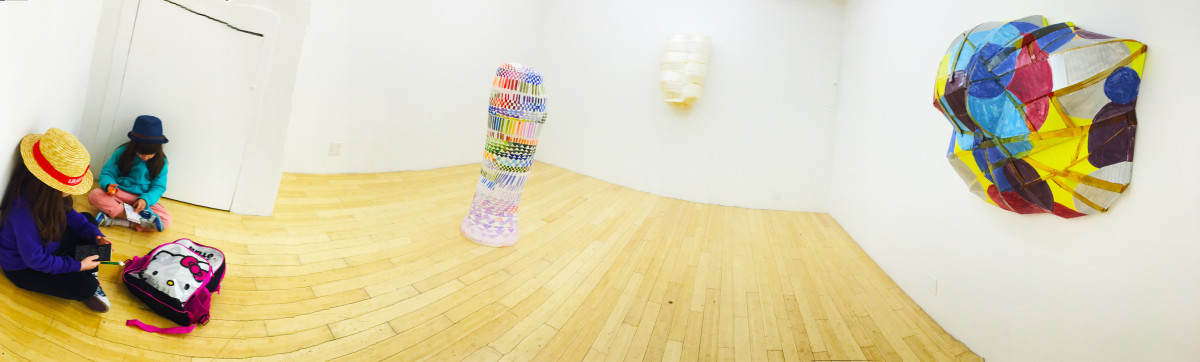 "Installation view of ""ZAHAYKEVICH"" @ Kansas Gallery"