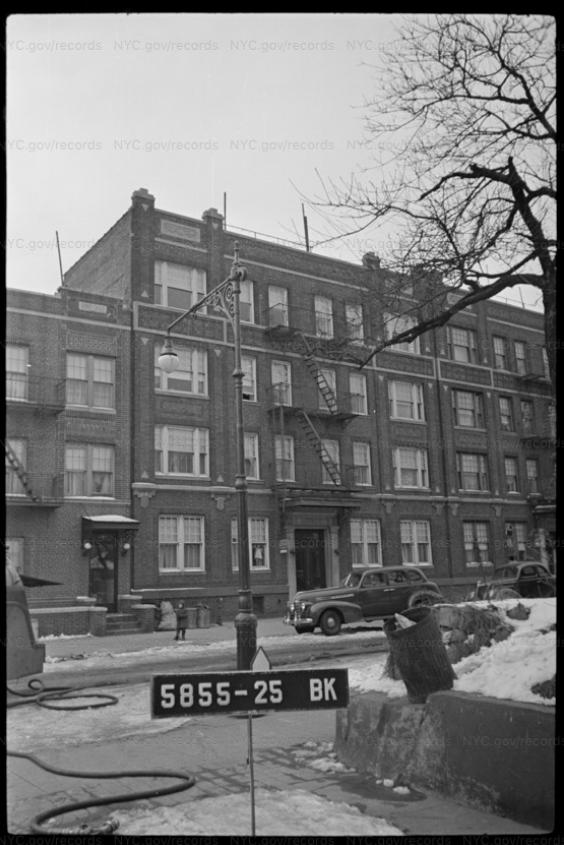 Gilbert Sorrentino apartment