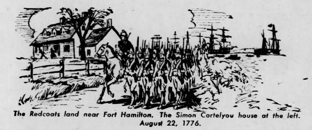 British Invasion and Simon Cortelyou House