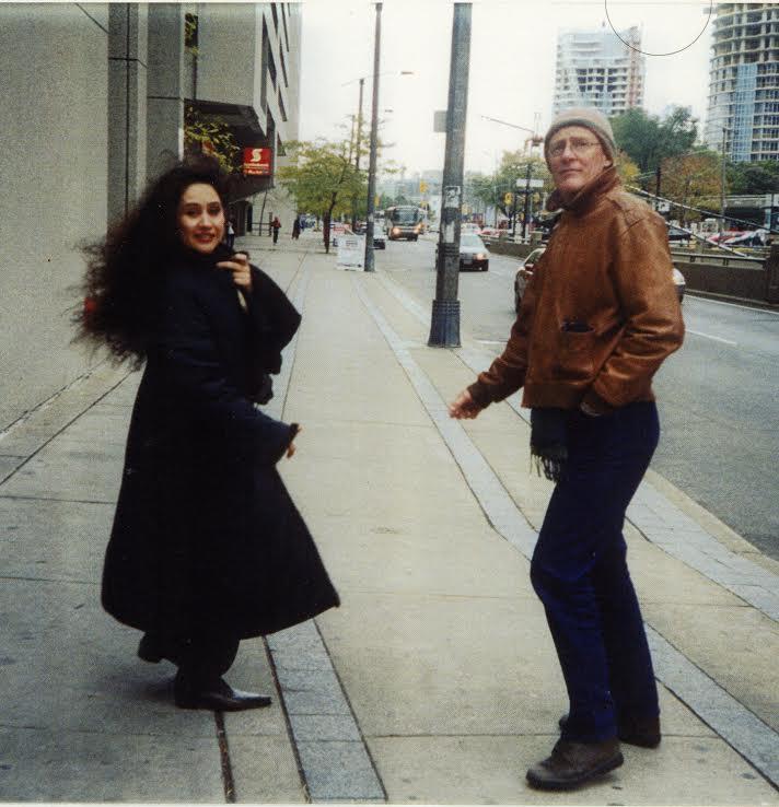 Tom McDonough with Raja Alem