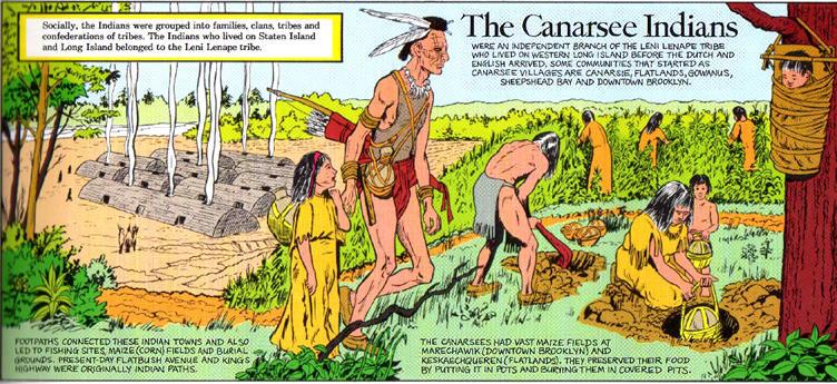 Canarsee tribe comic panel