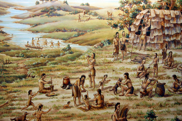 Generic Lenape Scene