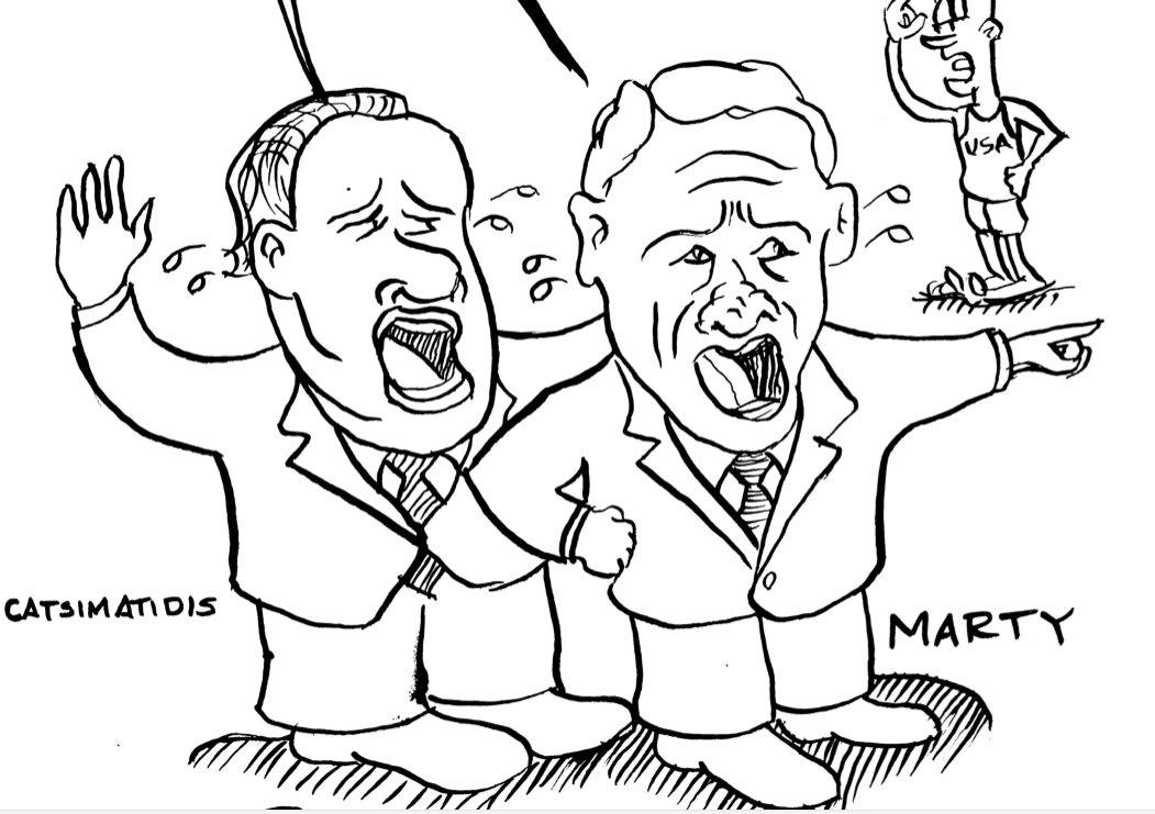 Marty Golden political cartoon teaser
