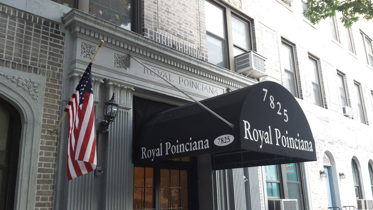 The Royal Poinciana apartment building