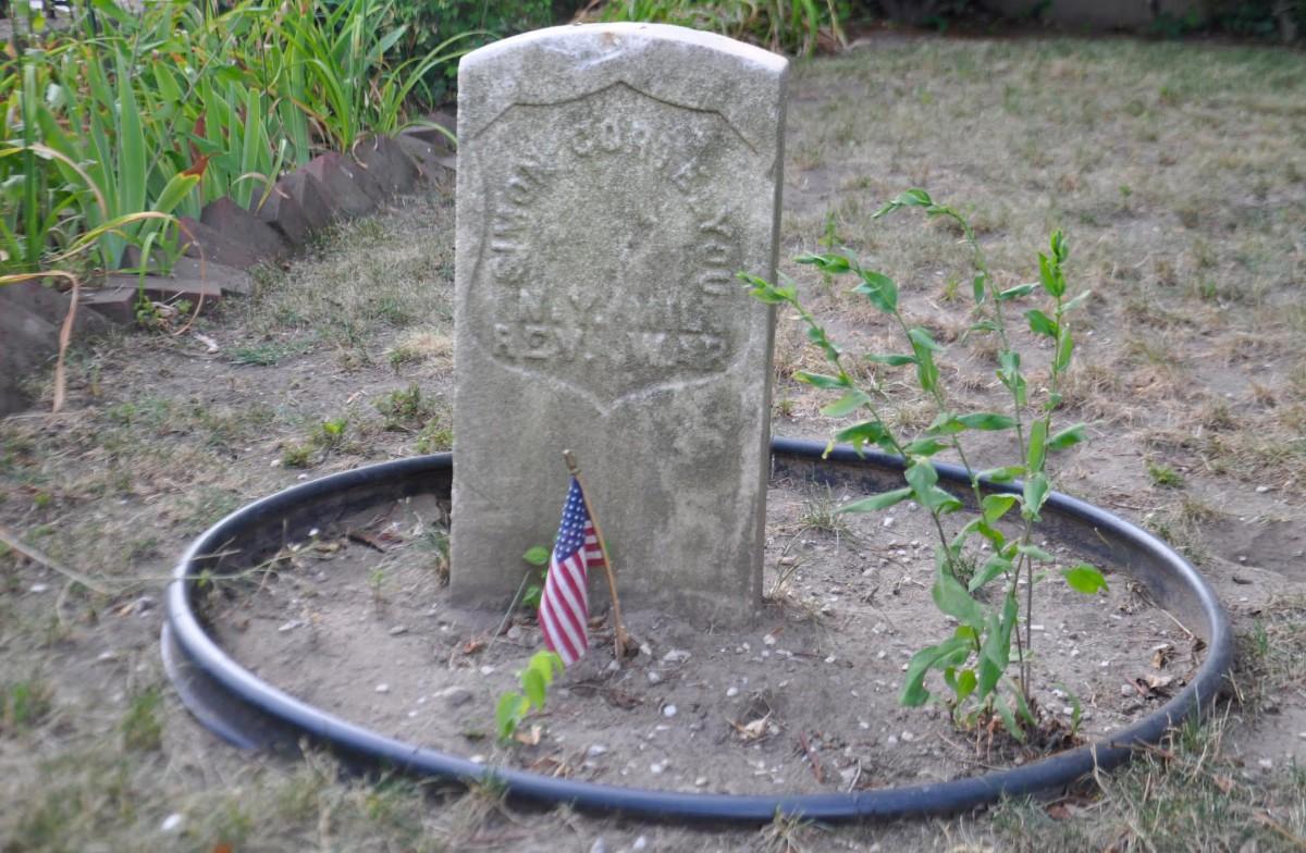 Simon Cortelyou's Grave