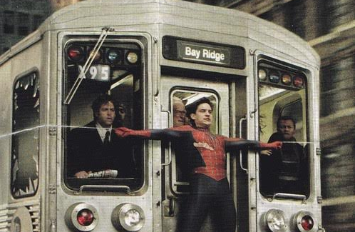 Spider-Man 2 Saves a Bay-Ridge Bound Train