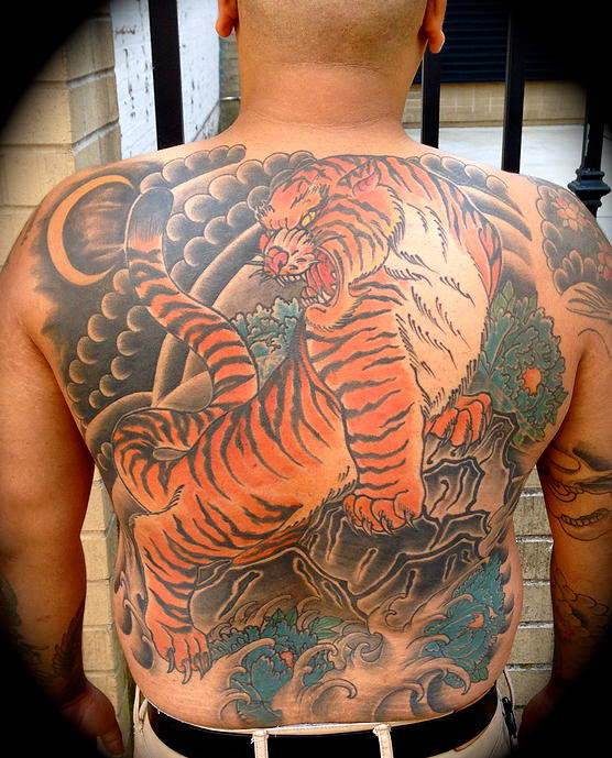 Back piece by Joe Mags