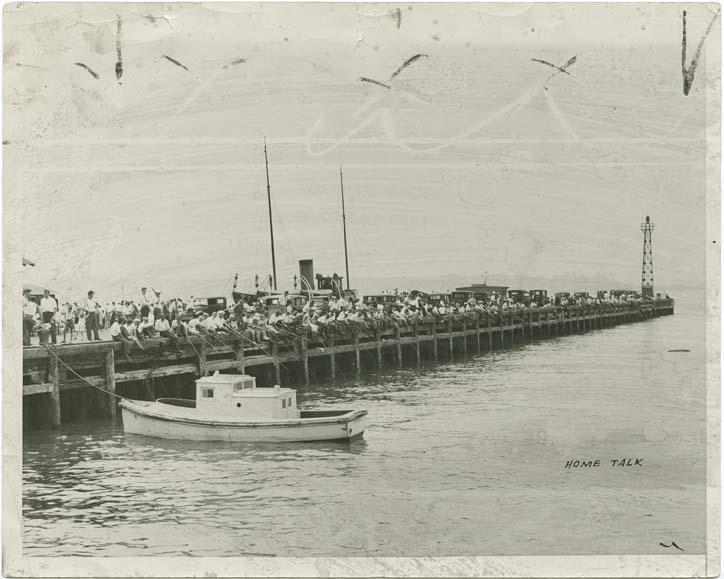 69th Street Pier in 1933