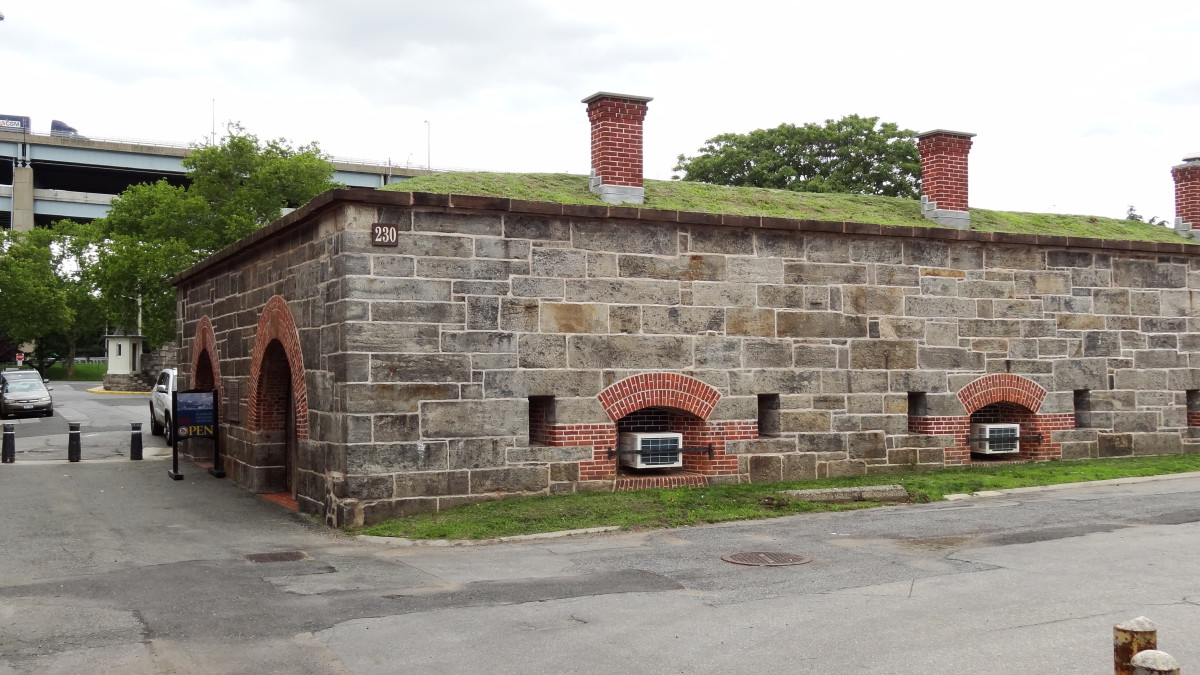 The canopier, home of the Harbor Defense Museum. (Photo by Hey Ridge)