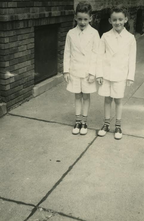 Tom McDonough with his brother Pete