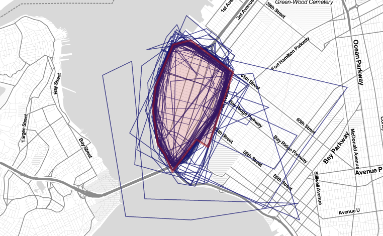 The Crowdsourced Borders of Bay Ridge