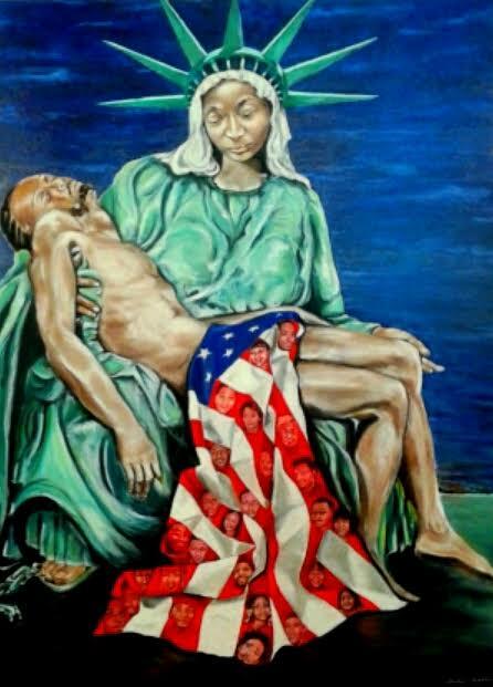 Black Lives Matter: Mother and Child