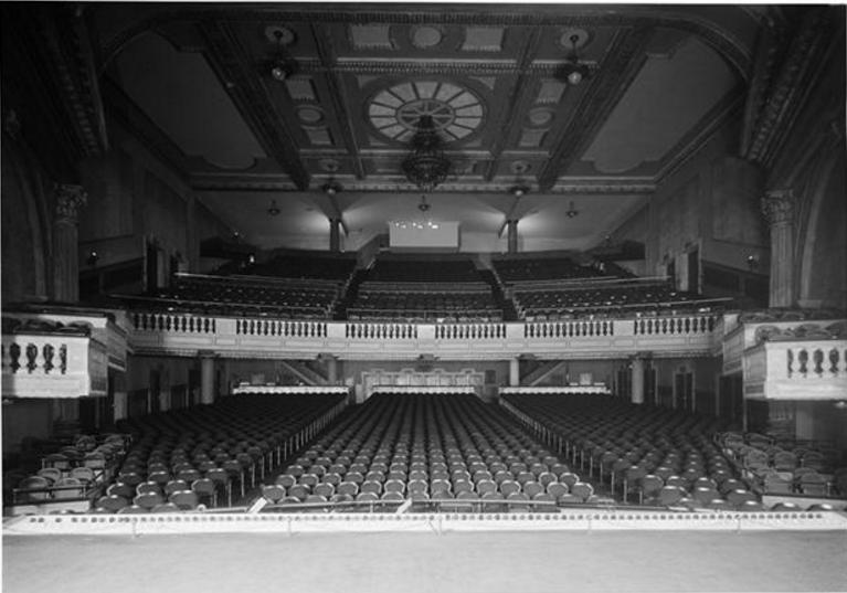 Interior of the old Bay Ridge Theatre