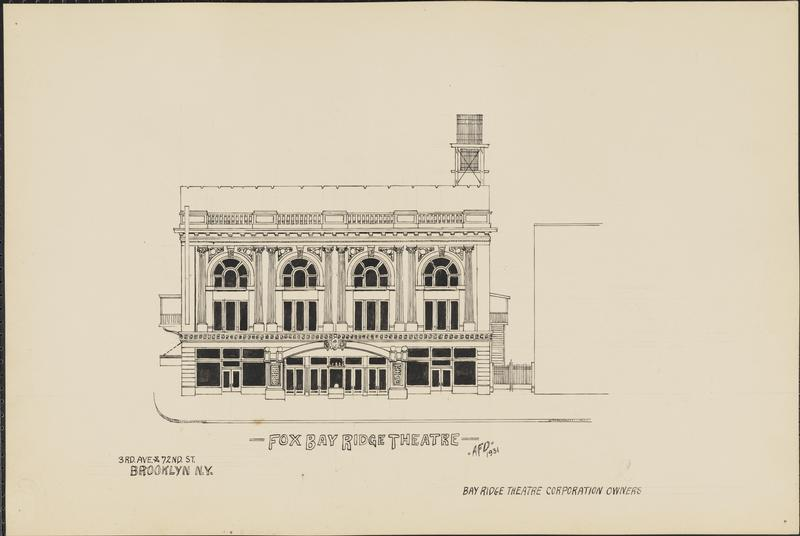 Bay Ridge Theatre sketch