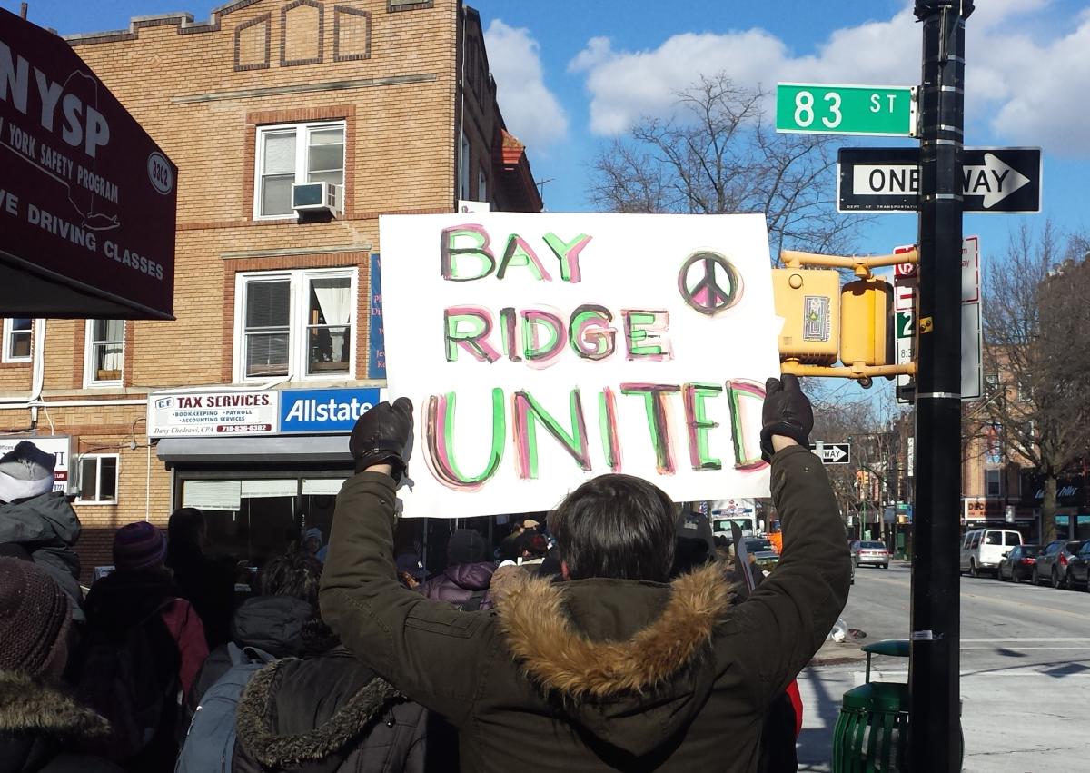 March in Bay Ridge