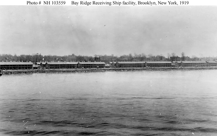 Bay Ridge Receiving Ship barracks