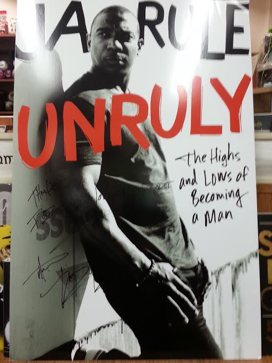 Signed promo for Ja Rule