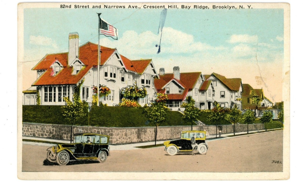 Crescent Hill postcard