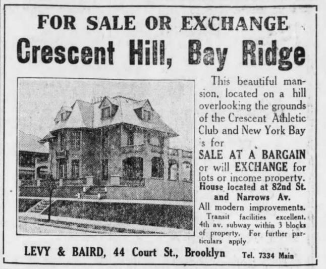 Crescent Hill ad