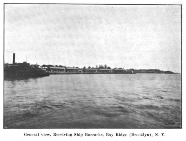 Shore Road barracks from sea