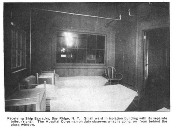 Shore Road Barracks interior