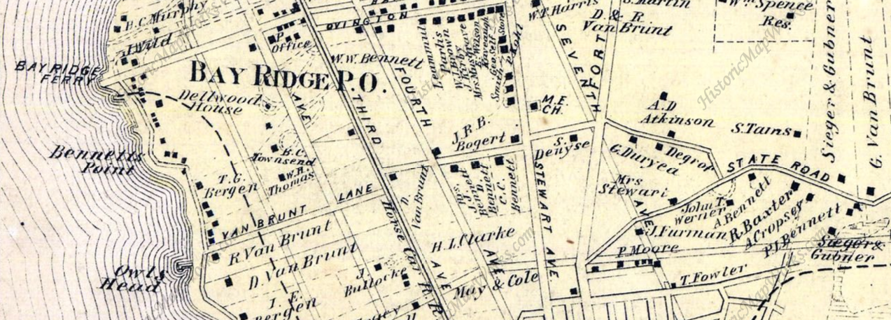Bay Ridge old map