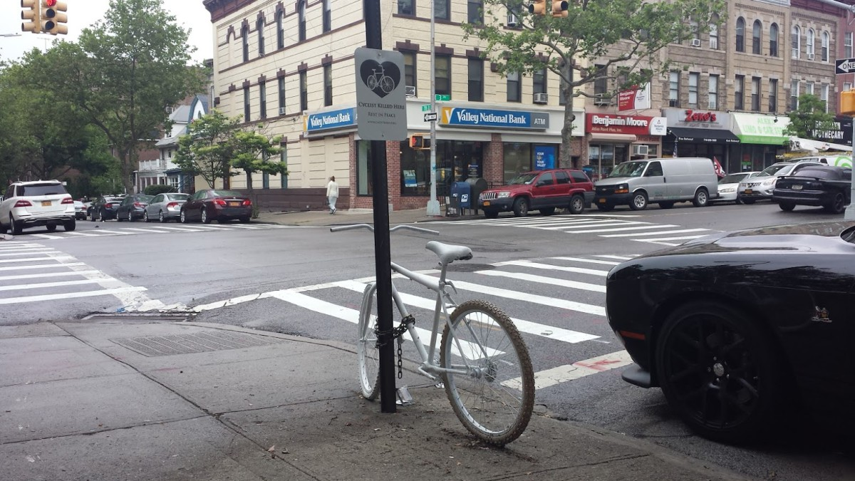 Bay Ridge Ghost Bike