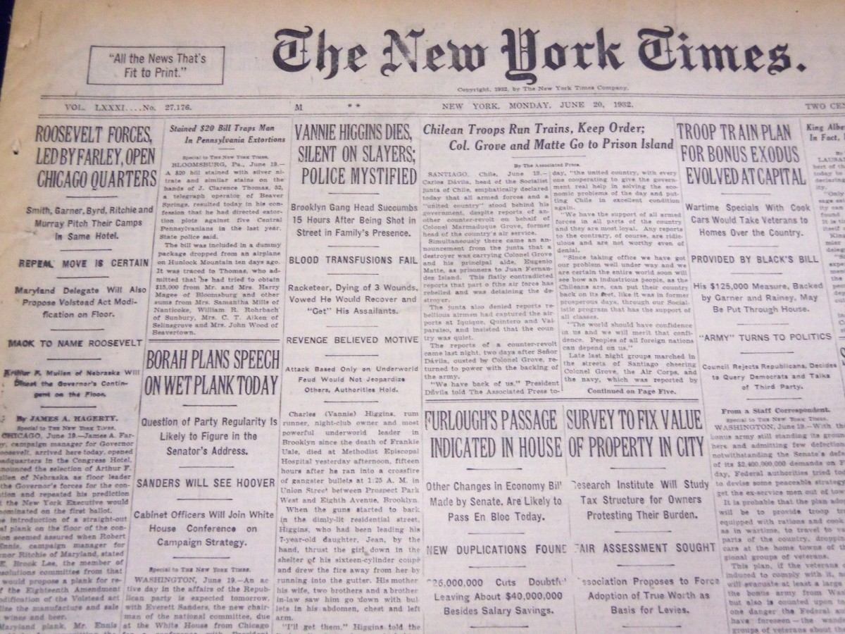 Vannie Higgins death in New York Times