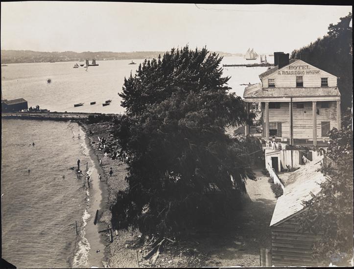Fort Hamilton scene