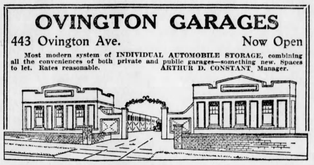 Ovington Garages