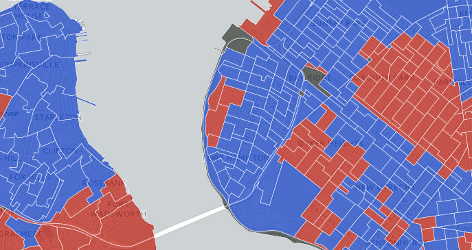Bay Ridge 2016 Election Map
