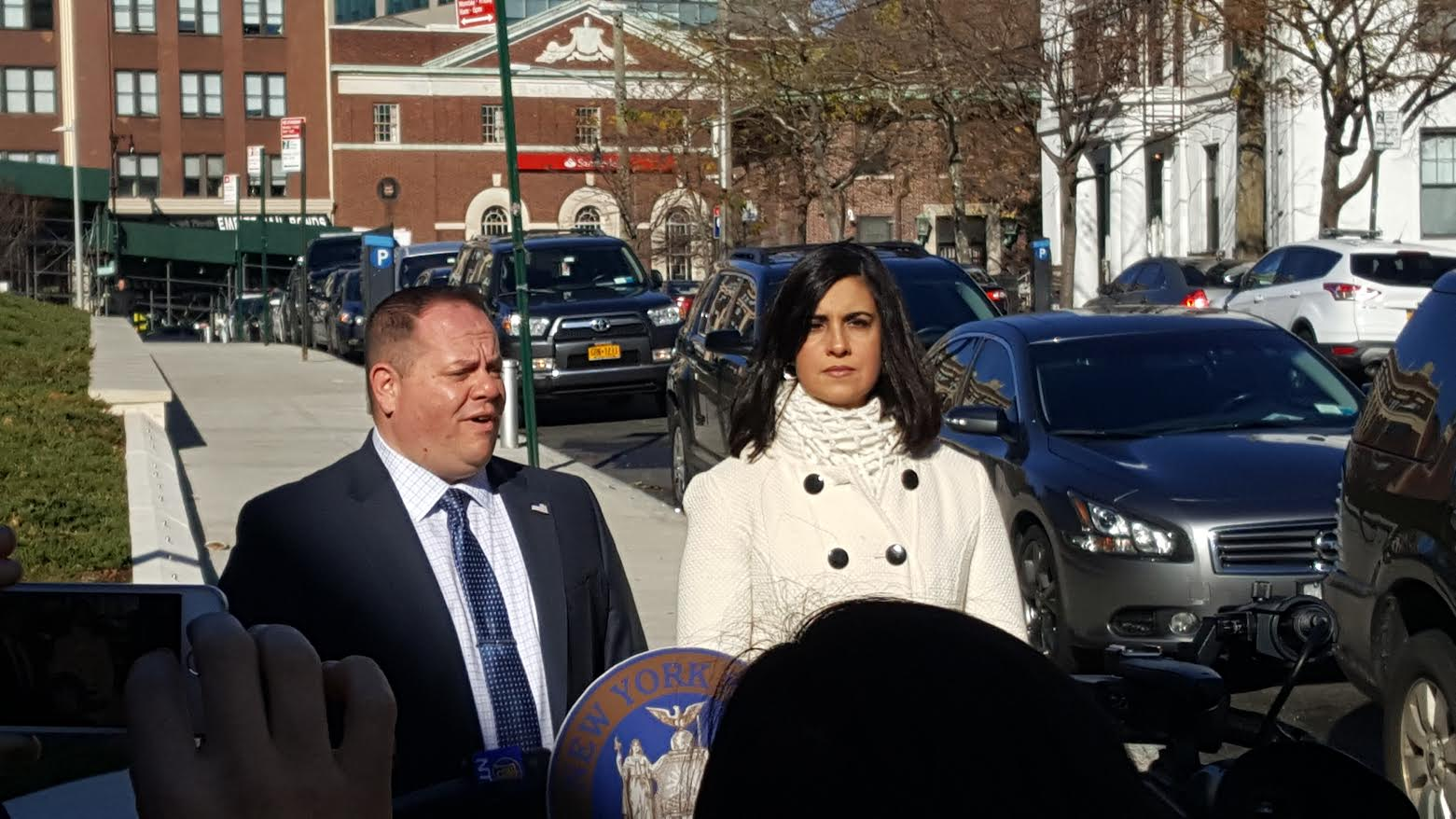 Malliotakis and Castorina