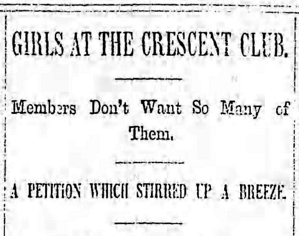 Crescent Club women