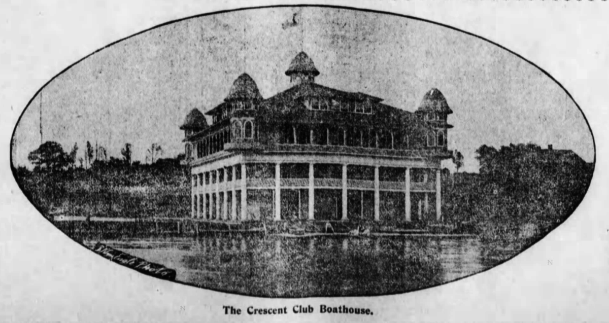 Crescent Club boathouse