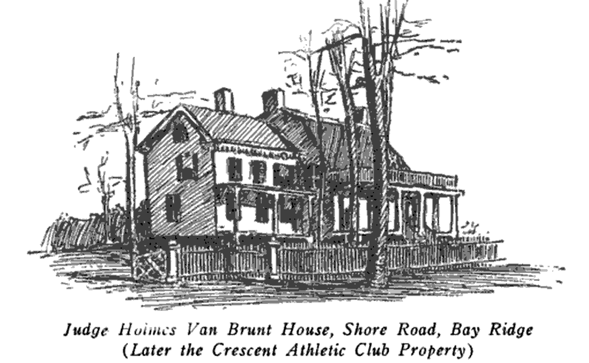 Judge Charles van Brunt's house