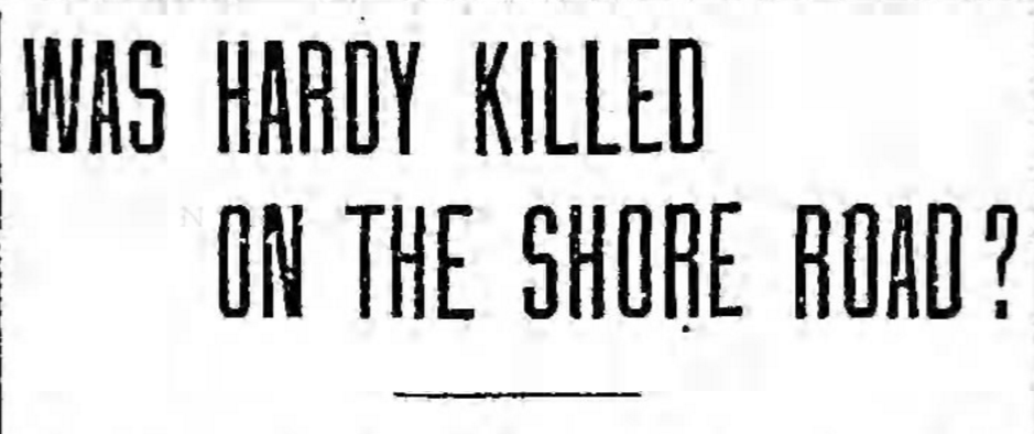 Frederick Hardy Headline